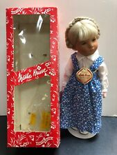 "14"" Vintage Kathe Kruse Doll ""Roswitha"" Painted Eyes Blonde Germany Mint W/ BoxS"