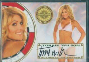 Benchwarmer 2012  Torrie Wilson   Autograph Card