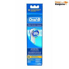 Oral B Precision Clean Brossettes de Rechange Lot de 4 (OBPC4) Livraison Gratuit