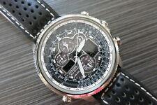 Silver Citizen Promaster Navihawk Chronograph A-T Eco-Drive Worn 5 Times