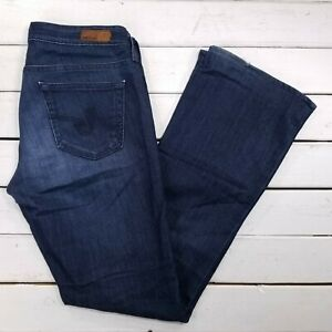 AG Jeans Adriano Goldschmied The Colette Slim Boot Womens 30x32 Dark Wash J38