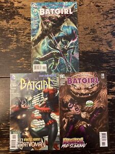 Batgirl #11, 12, 13 Artgerm Covers (DC) Free Combine Shipping