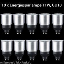 10 Paulmann 892.38 Energiesparlampe Leuchtmittel GU10 11W 230Volt WARMWEISS ESL