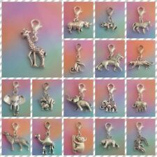 ❤ Wild Animals ❤ CLIP ON CHARMS ❤