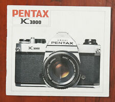 Pentax K1000 Instruction Book/132360