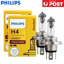 2x Philips H4 Rally Vision Essential Power 60/55W 12V Halogen Globe Light Bulb