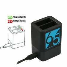 Dual Battery Power Charger Cradle Fast Charging for GoPro Hero 5 6 7 Black