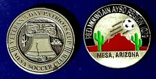 Soccer Referee Flip Coin Red Mountain Invitational, Veteran's Day Patriots Cup
