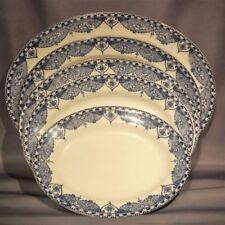 Tableware White Art Deco Date-Lined Ceramics (1920-1939)