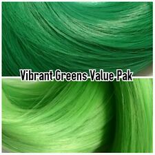Greens XL 4oz 2 Color Value Pack Nylon Hair Reroot Monster Ever After High Doll