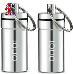Quality Wee d Storage Tin No smell or Odour 2 pack