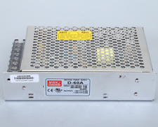 1pc New MEAN WELL switching power supply D-60A