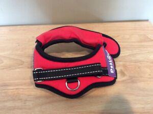 Petlove 3XS Red Padded Harness Lightweight
