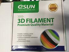LOT of 3   Filament 3D 1.75MM PLA+ 2 Gold+1 Brown 1KG(N.W) 3d printer wire