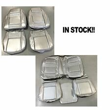 78 80 81 Firebird Front/Rear Seat Upholstery Covers Silver Deluxe PUI IN STOCK