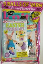 Let's Knit FREE Easter Yarn Kit Easy Style Home Update Mar 2016 FREE SHIPPING JB