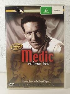 Medic DVD - Vol 2 DVD 1950s_Richard Boone_Real life medical stories