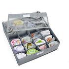 3PCS Underwear Bra Socks Ties Divider Closet Container Storage Organizer Set UL
