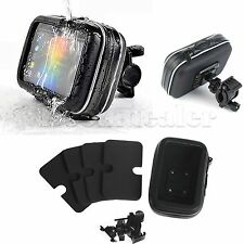 "Bike Motorbike Handlebar Mount & GPS Case Cover for 5"" Garmin Nuvi GPS Navigator"