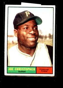1961 TOPPS #82 JOE CHRISTOPHER PIRATES EX+ E02217