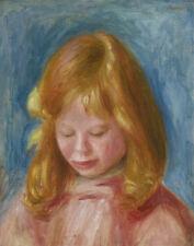Pierre Auguste Renoir Portrait Of Jean Renoir Canvas Print 16 x 20   #5493