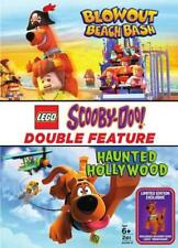 LEGO SCOOBY-DOO!: HAUNTED HOLLYWOOD/BLOWOUT BEACH BASH NEW DVD