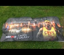 Lebron James Cleveland Cavaliers NBA2K15 TNT Opening Night Barricade Banner