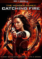 The Hunger Games: Catching Fire (DVD, 2014, Includes Digital Copy) New with Slip