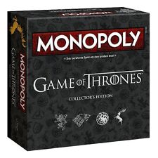 MONOPOLY - GAME OF THRONES - Collector´s Edition - Winning Moves 44062 - NEU