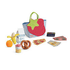 "American Girl BT BITTY TWIN GROCERIES for 15"" Baby Dolls Food Banana Orange NEW"