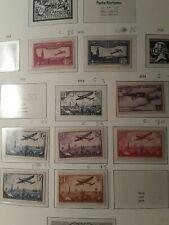 Lot de timbres poste aérienne neuf* n5,6,7,9, 10,11,12,13.ly8.