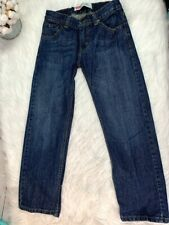 "Boys Levi Jeans Size 10 Medium Wash 505 Regular 24"" inseam"