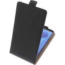 Funda para Asus Zenfone Max Plus M1 Flipstyle Gadget Funda Protectora Negro