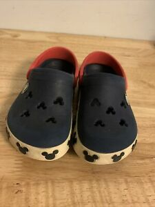 Crocs Toddler Boy Sandals Size  8 9  Mickey Mouse