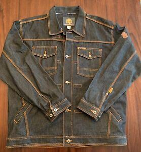 Southpole Mens Denim Jacket Size XXL