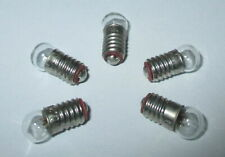Bulbs E5.5 3,5V Small Light for Nativity Scenes Doll's House Lamps 5 Piece New