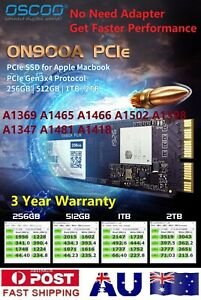 OSCOO ON900A M.2 NVMe PCIe Gen3x4P SSD for MacBook Air, Pro, Retina, Mini, iMac
