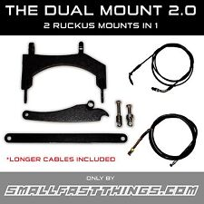 Honda Ruckus FATTY and NON-FATTY 12in. Mount Stretch Kit (All Cables Included)