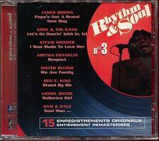 RHYTHM & SOUL - N°3 - MOTOWN - CD COMPILATION NEUF SOUS CELLO