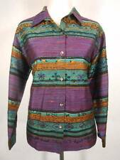 Beautiful Women's Size 2 Chico's Design Multi-Color Striped Beaded Silk Jacket