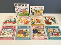 RICHARD Scarry PICTURE BOOK Lot - 8 feet longest counting parade, Busytown