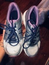 asics gel Athletic Running Sneakers Size 6 Girls Women