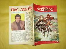 IL NUOVO SCERIFFO N°31  DICEMBRE 1957 SUL RETRO JOHN WAYNE
