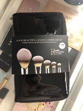 New It Cosmetics Your Beautiful Basics Airbrush 101 Makep Brush Set 5 Pieces