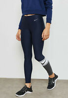 NIKE Damen Trainingstights Power Training Tights lang 905137-451 Leggings Neu XL