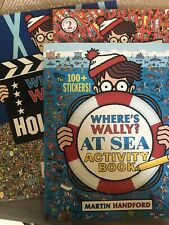 Where's Wally? 2 Books +activity Book
