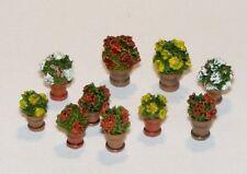 Plus Model 380 - 1:3 5 Modélisme en Plastique Fleurs IN Pots de Fleurs