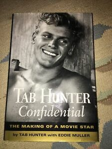 TAB HUNTER CONFIDENTIAL - BRAND NEW - FIRST EDITION - SIGNED BY TAB HUNTER