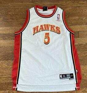Kids Josh Smith #5 Atlanta Hawks Reebok NFL Football Stitched Jersey Size XL