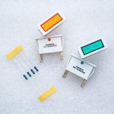 4 X Arcolectric C0430FQ Green Orange Neon Indicator Mains Panel lamp Light Bulb